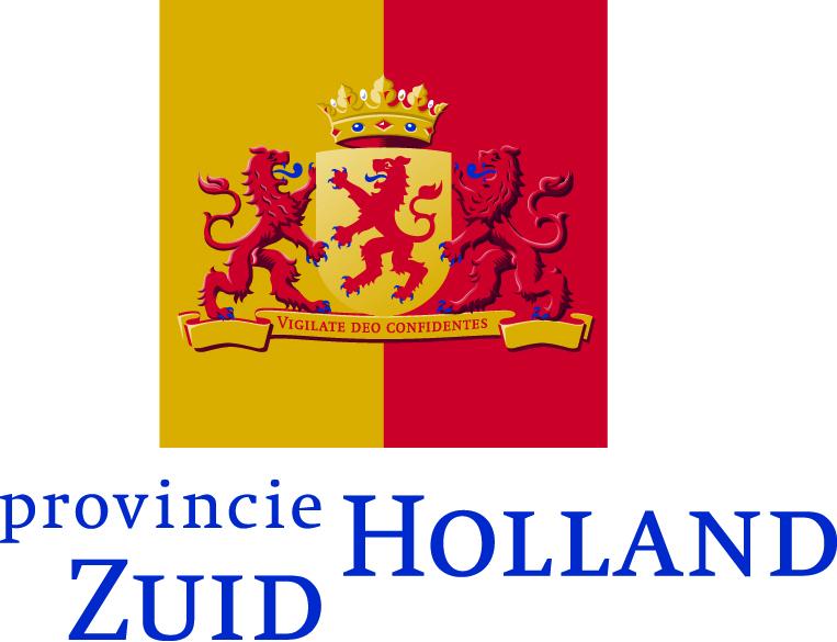 Het logo van de provincie Zuid-Holland